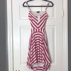 Bebe NWT Summer Dress Stripped Super Soft material